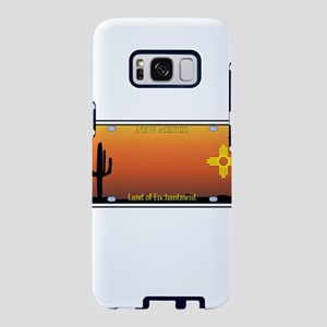 New Mexico License Plate Samsung Galaxy S8 Case