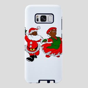 black santa mrs claus Samsung Galaxy S8 Case
