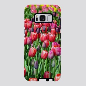 Colorful spring tulip garde Samsung Galaxy S8 Case