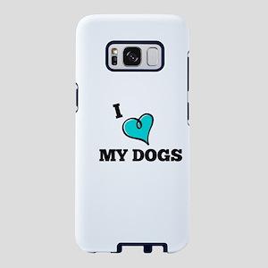 I Love My Dog Samsung Galaxy S8 Case