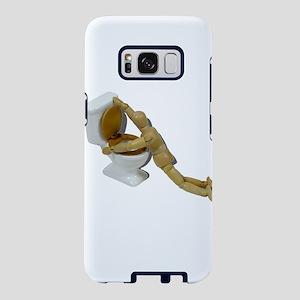 ModelSickIntoToilet110511.p Samsung Galaxy S8 Case