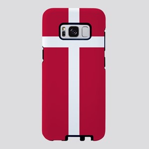 Danish Flag Samsung Galaxy S8 Case