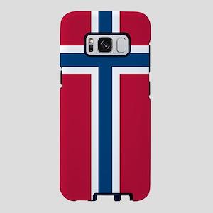 Norwegian Flag Samsung Galaxy S8 Case