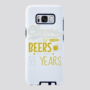 Cheers and Beers 55th Birth Samsung Galaxy S8 Case