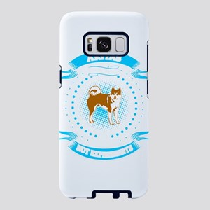 Akita Stickers Clothing Acc Samsung Galaxy S8 Case
