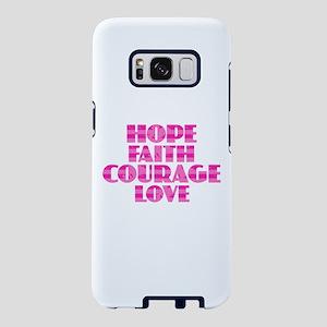Hope Faith Courage Love Samsung Galaxy S8 Case