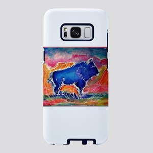 Buffalo, colorful, art! Samsung Galaxy S8 Case
