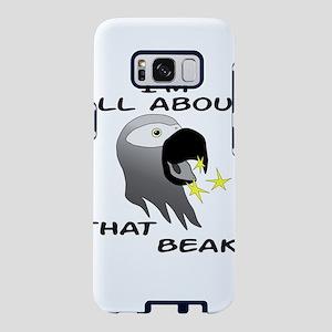 African Grey Parrot Big Bea Samsung Galaxy S8 Case
