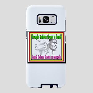 Black American Native Ameri Samsung Galaxy S8 Case