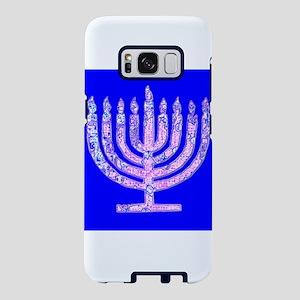Menorah Hanukkah 4Lemuel Samsung Galaxy S8 Case