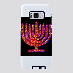 Pink Black Menorah 4Hanna Samsung Galaxy S8 Case