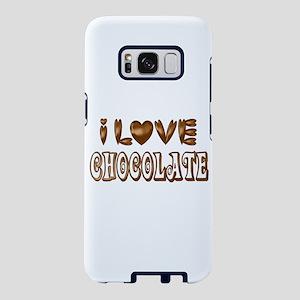 I Love Chocolate Samsung Galaxy S8 Case