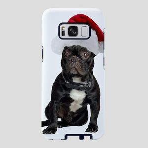 French Bulldog Santa Samsung Galaxy S8 Case