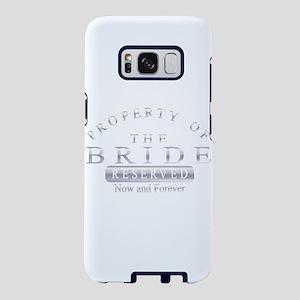 Property of the Bride (Silv Samsung Galaxy S8 Case