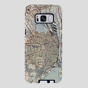 Vintage Map of Mobile Alaba Samsung Galaxy S8 Case