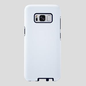 Distressed Neon Biohazard W Samsung Galaxy S8 Case