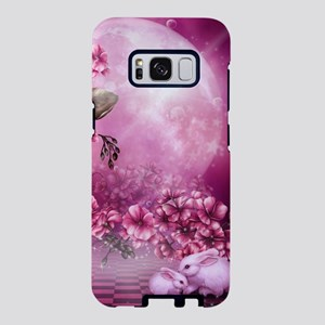 Pink Easter Rabbits Samsung Galaxy S8 Case