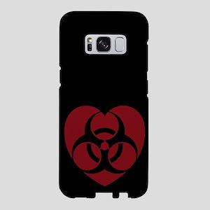 biohazard-heart_rd_ff Samsung Galaxy S8 Case