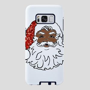 black santa claus Samsung Galaxy S8 Case