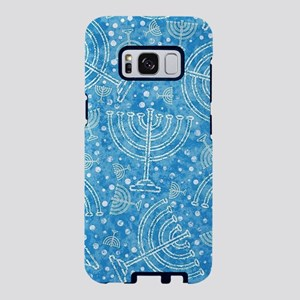 Hanukkah Menorah Pattern Samsung Galaxy S8 Case