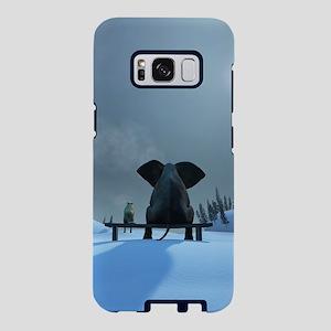 Dog and Elephant Friends Samsung Galaxy S8 Case