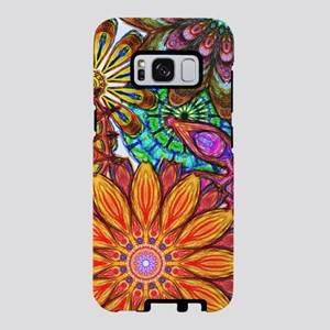 Funky Flowers Samsung Galaxy S8 Case
