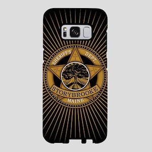 Storybrooke Sheriff Badge Samsung Galaxy S8 Case