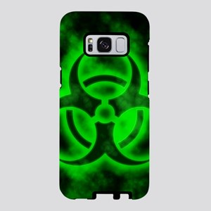 Green Biohazard Symbol Samsung Galaxy S8 Case