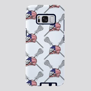 American Flag Lacrosse Samsung Galaxy S8 Case