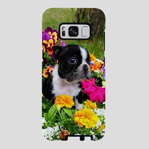 Boston Terrier puppy Samsung Galaxy S8 Case