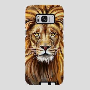 Artistic Lion Face Samsung Galaxy S8 Case