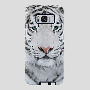 White Tiger Head Samsung Galaxy S8 Case