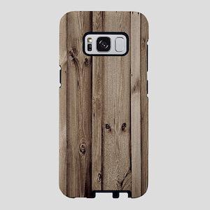 rustic farmhouse barn wood Samsung Galaxy S8 Case