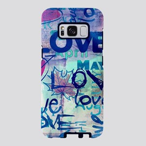 Abstract Love Painting Samsung Galaxy S8 Case