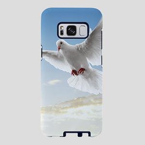 White Doves In The Sky Samsung Galaxy S8 Case