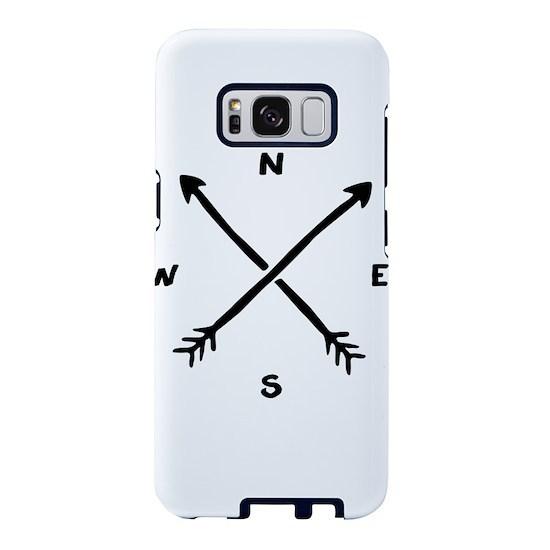 Compass Arrow Samsung Galaxy S8 Case