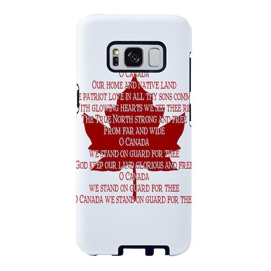 premium selection 80dba 4b4ae Canada Anthem Souvenir Samsung Galaxy S8 Case