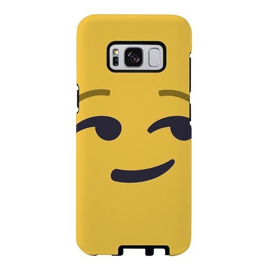 Smirk Emoji Face Samsung Galaxy S8 Case