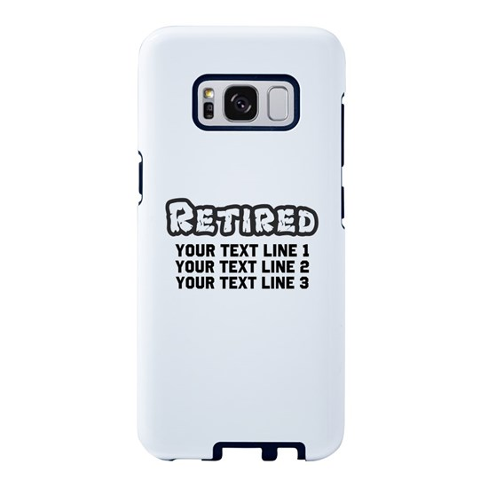 Retirement Text Personalized