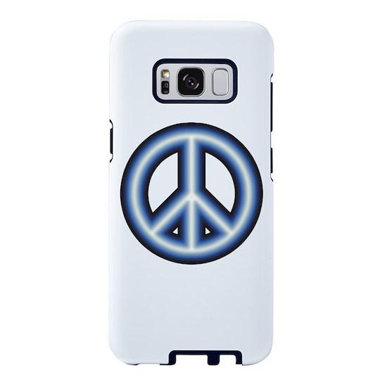 Blue Peace Symbol