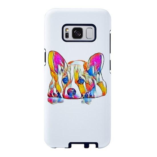 Colorful Corgi Puppy