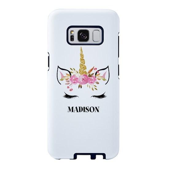 Unicorn Face Eyelashes Personalized Gift