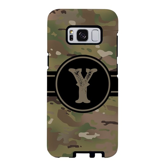 Army Camouflage Monogram: Letter Y