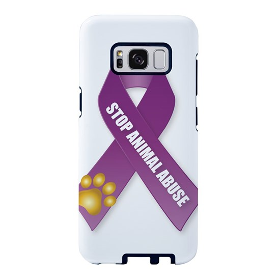 Stop Animal Abuse Ribbon