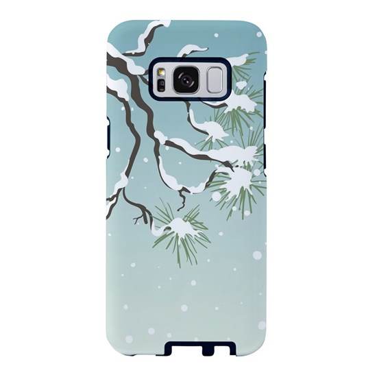 Snowy Japanese Pine