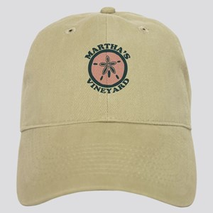 Martha's Vineyard MA - Sand Dollar Design. Cap