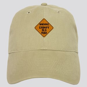 Grumpy Old Man Warning Cap