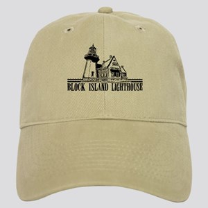 Block Island Lighthouse Design Cap