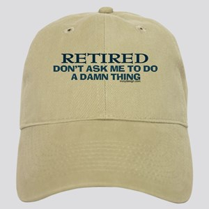 Retired Humor Cap