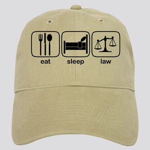 Eat Sleep Law Cap